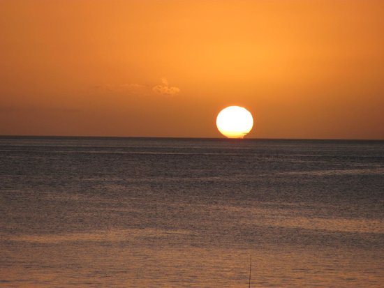 Titiwi Inn: another beautiful sunset from the balcony