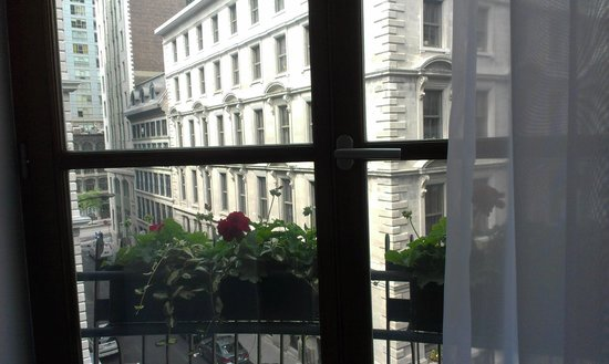 Hotel Gault: View from center window