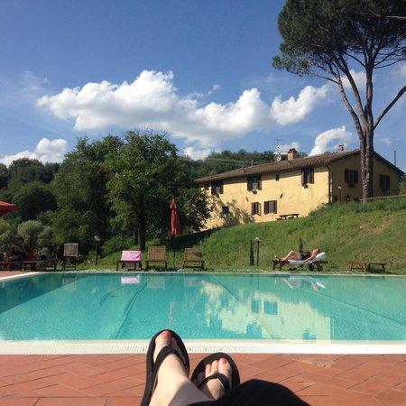 Villa Poggio di Gaville: Poolside