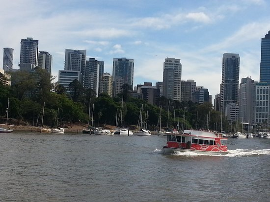Meriton Serviced Apartments Brisbane on Herschel Street: Free taxi boat around Brisbane