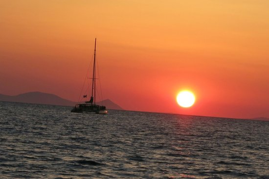 Bella Aurora & Thalassa: Sunset from the Thalassa