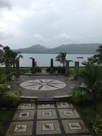 The Natsepa Resort and Conference Center: view from the lobby!