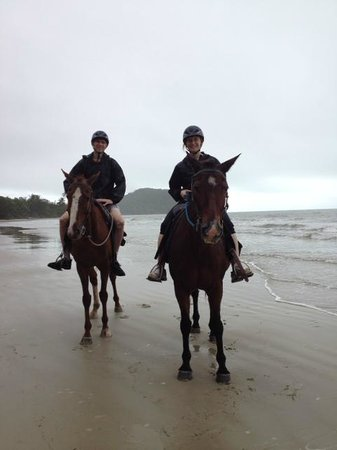 Cape Tribulation Horse Rides: Alfie and Billy