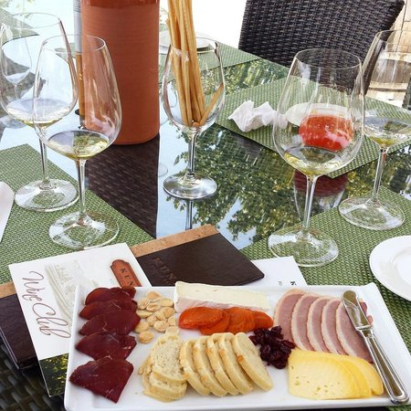 Kunde Family Winery: Kunde delicious plate