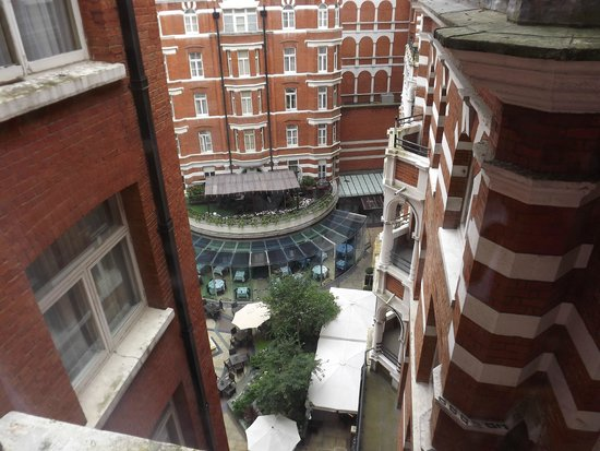 St. James' Court, A Taj Hotel: View of inner courtyard from our room