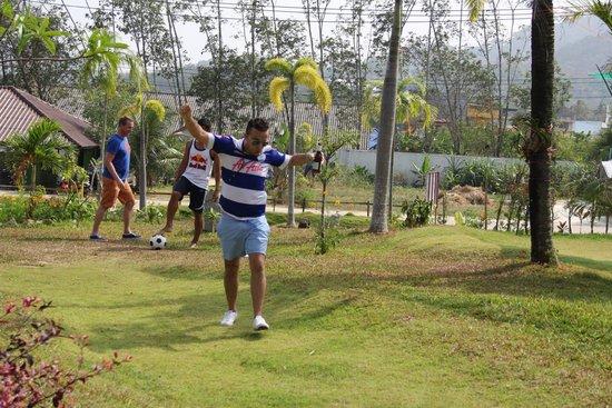 Football Crazy Golf - Phuket: hole in one!!!