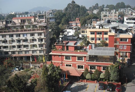 Radisson Hotel Kathmandu : View from a front facing room