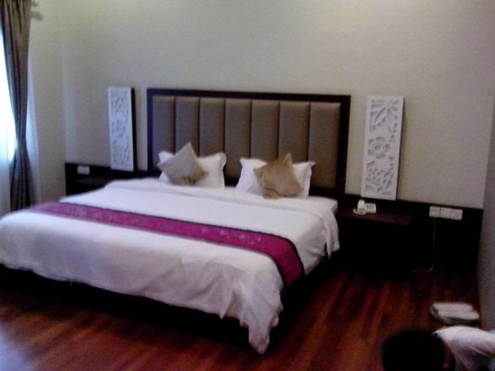 Jonker Boutique Hotel: super king size bed