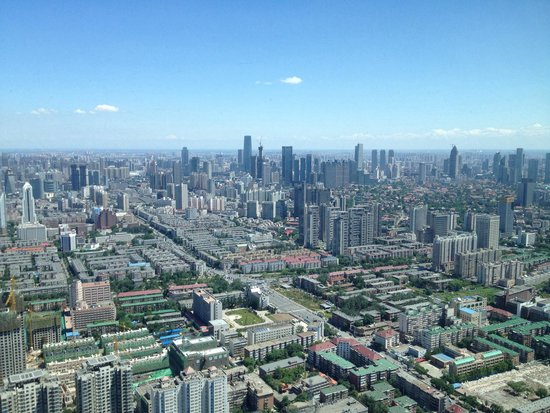 Tianjin Radio and TV Tower : Brilliant view in a good (very rare) day