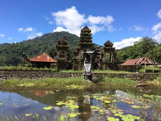 Munduk Wilderness - Day Tours: Temple on the lake