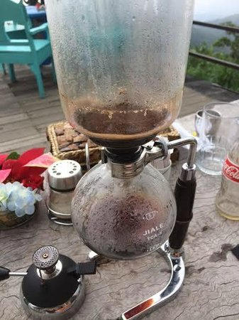 Munduk Wilderness - Day Tours: Luwak coffee prepared table-side at lunch