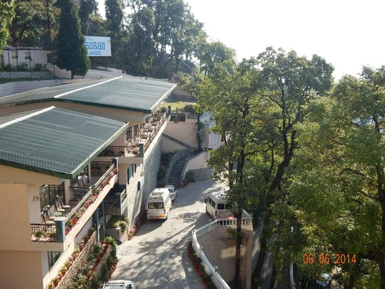Hotel Madhuban Highlands: View from 3rd Floor