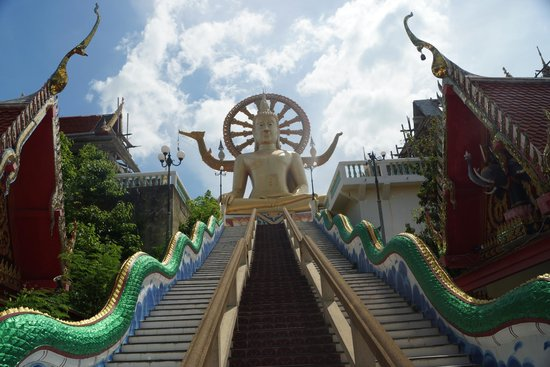 Big Buddha Temple (Wat Phra Yai) : Big Buddha Temple