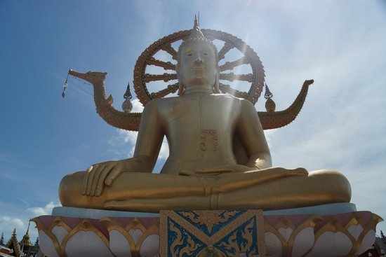 Big Buddha Temple (Wat Phra Yai): Big Buddha