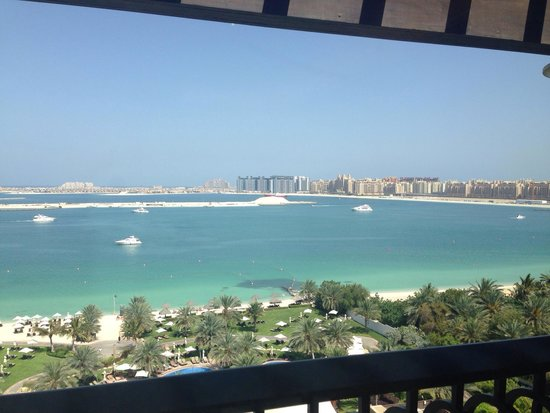 The Westin Dubai Mina Seyahi Beach Resort & Marina : View from Executive Floor