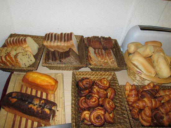 Auberge du Parc : petits déjeuners
