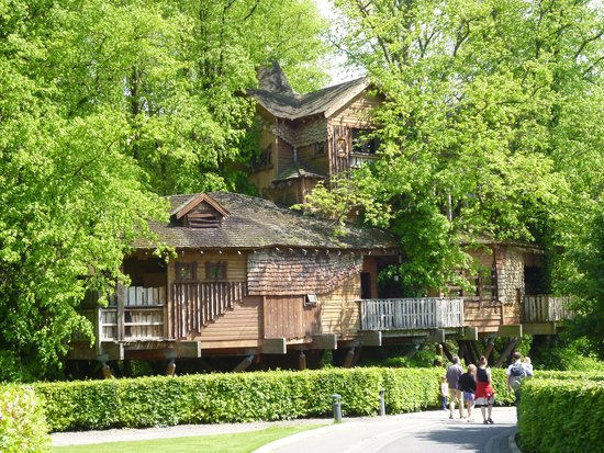 The Treehouse Restaurant at the Alnwick Garden: Treehouse Restaurant, Alnwick