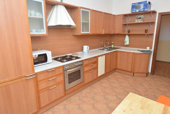 Apricot Hostel : Кухня