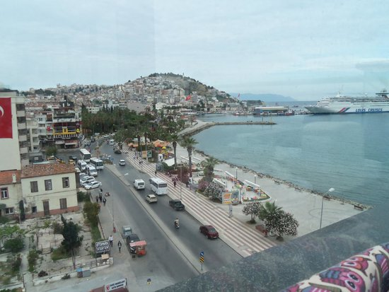 Ilayda Hotel: View from 6th floor .