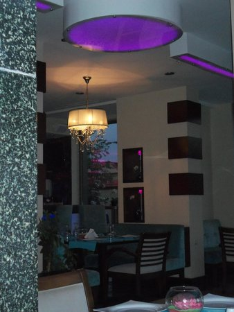 Ilayda Hotel: Dining room .