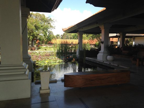 Grand Hyatt Bali: View from Lobby