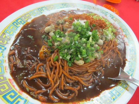 Teo Soon Loong Seafood Restaurant : Oyster Noodles