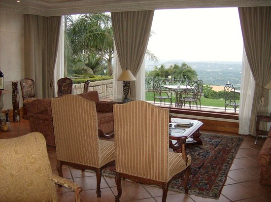 Villa Sterne: Lounge with the view