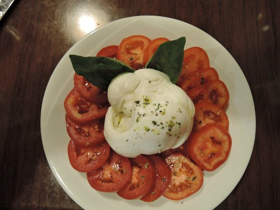 Tentazioni : great salad, fresh tomatoes