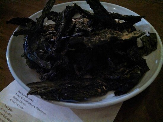 Ortolana : Kale crisps