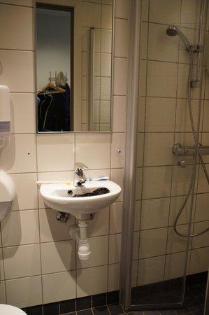 Yess! Hotel Kristiansand: Dusche