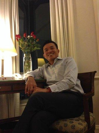 InterContinental Singapore: Cozy room to work and sleep