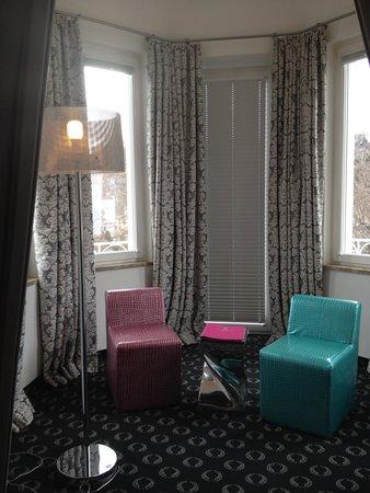 Hotel Villa Carlton: Balacony