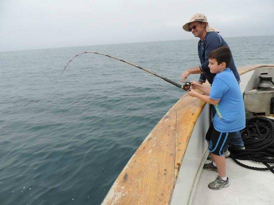 The lottery winner picture of helgren 39 s sportfishing for Oceanside fishing charters