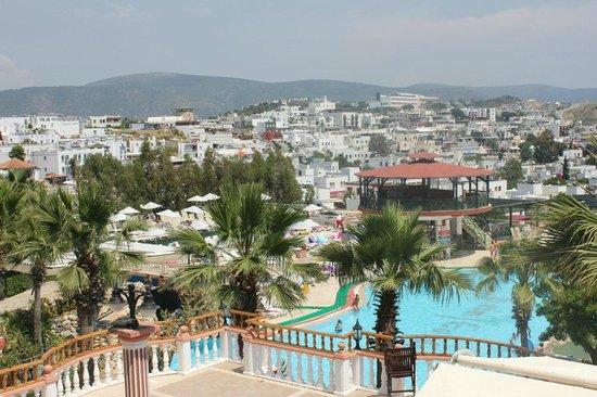 Palm Garden Hotel: Вид с террасы