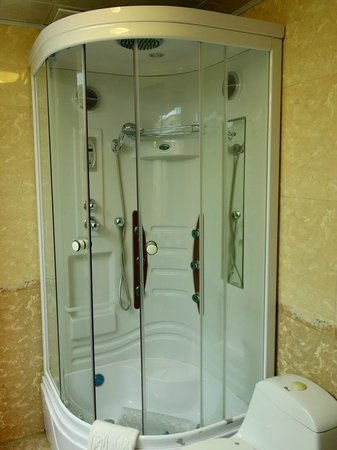 The Tibet Gang-gyan Lhasa Hotel : Modern bath facility