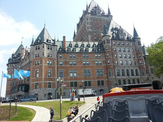 Hotel Chateau Laurier : Québec , le château Frontenac