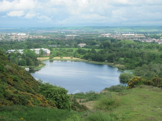 Holyrood Park : Duddingston Loch
