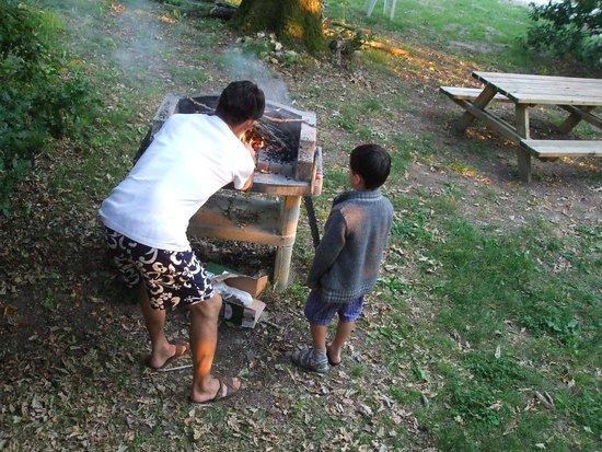 Village du Paillé : au pied du bungalow
