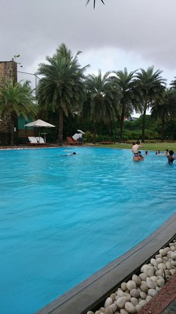 Waterstones Hotel : Swimming pool daytime