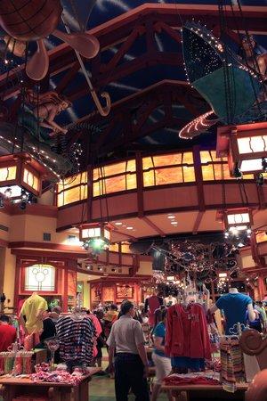 Disney Springs: World of Disney store