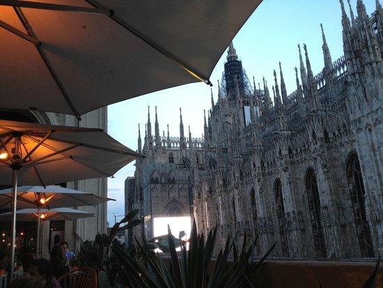 Terrazza Aperol : Duomo's view