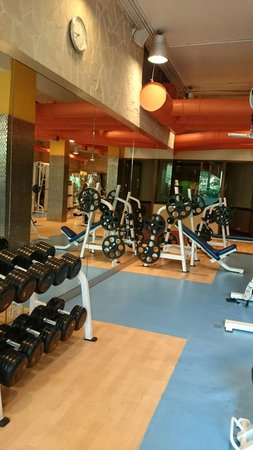 Waterstones Hotel: The gym