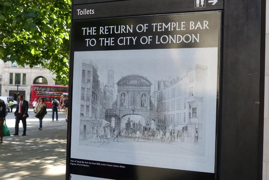 Paternoster Square: Historica Temple Bar information