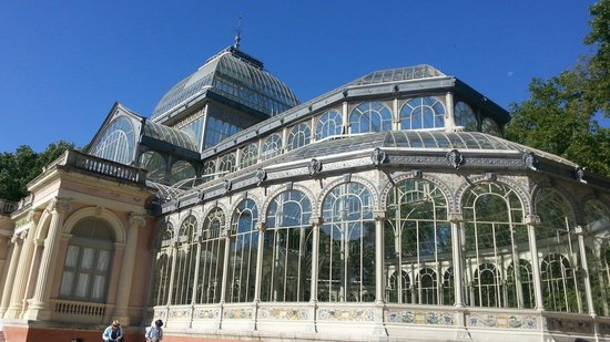 Palacio De Cristal: Crystal palace