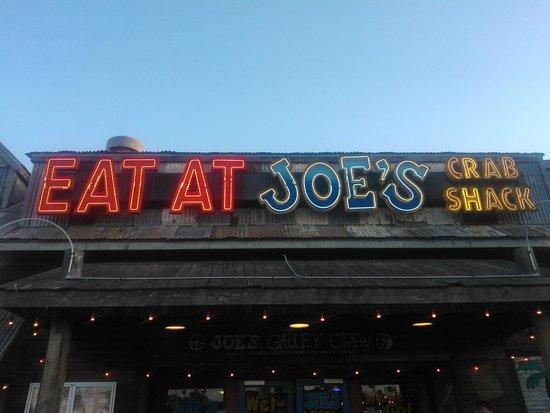 Joe's Crab Shack: Front of the Shack