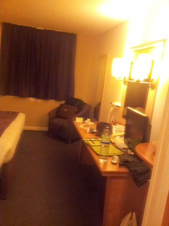 Premier Inn Bristol City Centre (Haymarket) Hotel: la camera 2