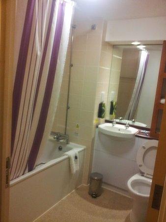 Premier Inn Bristol City Centre (Haymarket) Hotel: il bagno