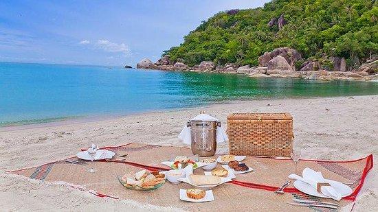 Koh Taen : Beach picnic