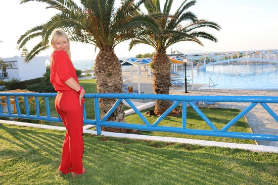 Mitsis Rinela Beach Resort & Spa : Я