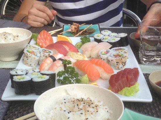 Sushi Yaki : plat duo à partager